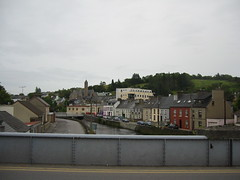 Donegal Town: Looking East 2004