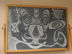 Chalkboard in my Tutoring Room (Djinn) Tags: chalkboard owl art jenniferchasteen