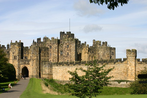 Alnwick Castle by Robert Whitehead.