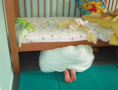 feet (Brenda Anderson) Tags: feet bed toddler sleep under pcss hiding flickrout050116 curiouskiwi sssleep brendaanderson curiouskiwi:posted=2005