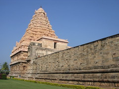 Gangaikonda Chola Puram (Ravages) Tags: world old travel blue sky sculpture india inspiration green history monument stone temple construction asia tn time god fort roadtrip temples monuments indianarchive tamil tamilnadu nadu gopuram indianness visitindia visitchennai