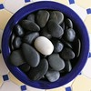 P1240029 (Cyron) Tags: cyron opposites bowl stones black white squaredcircle photo 2005