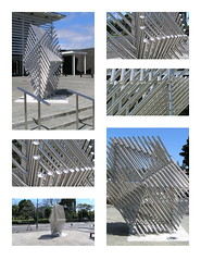 Collage Stainless (Click Attack) Tags: art collages auckland sculptures stainless onehunga artinthecity filipetohi