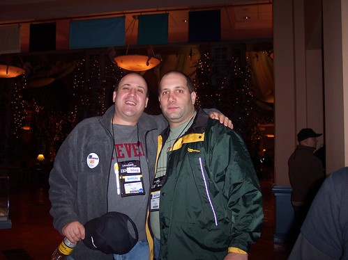 Bruce Elgort and Eric  Petrevich, Lotusphere 2005