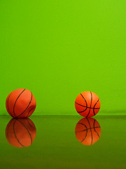 Jealousy (baboon) Tags: orange green basketball ball israel topf75 balls minimal topf100 edologic reflaction catchycolorsorangegreen mindigtopponalwaysontop