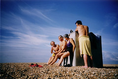 relaxing after swim #2 (lomokev) Tags: blue sky beach dave brighton savedbythedeletemegroup stones cosina nick andrew yvonne nickb agfa ultra cosinacx2 cx2 superdave andrewr deckchairbox flickys excellenceinsets  deletetag eaglefestival agfaulta rota:type=showall rota:type=perspective rota:type=portraits file:name=ltobride33a flickr:user=yvoluna flickr:nsid=13520439n07 top10brighton imageselection:bp=people imageselection:bp=socialpeople eaglefestivalsmall davesawyers