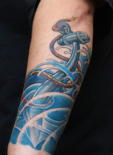 The Symbolism Behind an Anchor Tattoos and Anchor Tattoo Designs
