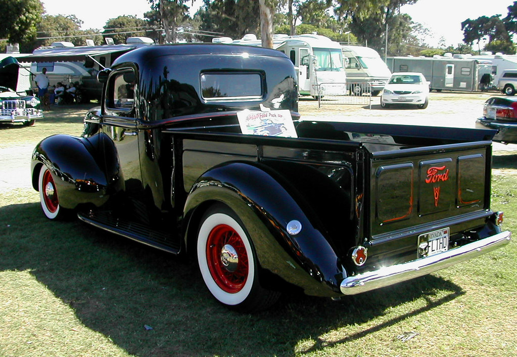 Black 1940 Ford Truck