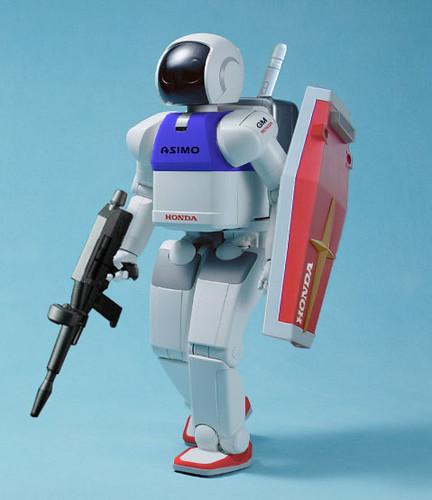 Gundam Asimo Gundam Asimo / 南宮博士 『パトレイバー』のOVAリリー