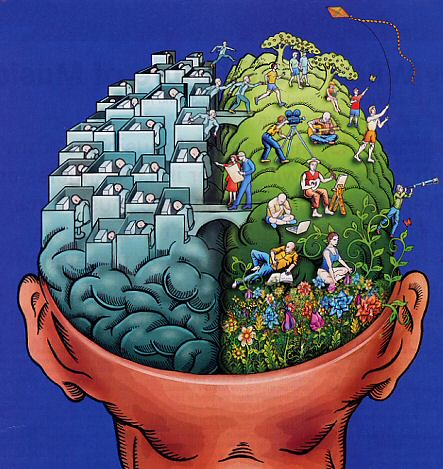 Teaching on the Right Side of the Brain - Methodologies and