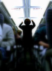 the gospel according to boeing (Ben McLeod) Tags: flying flightattendant safety emergencyexit picasa2 preflightinstruction weird usdepartmentoflabor bureauoflaborstatistics occupationaloutlookhandbook picasa
