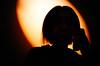 mysterious lady (lomokev) Tags: orange black silhouette japan tokyo lomo lca lomography kyoto lomolca mysterious lomograph rota:type=showall rota:type=silhouette rota:type=lowlight rota:type=portraits published:title=hotshots file:name=cd3607 hotshotspagenumber77 roll:name=cd36