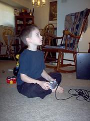 Christopher intent on winning