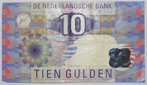 Old Money - 10 Dutch Guilders | Flickr - Photo Sharing!