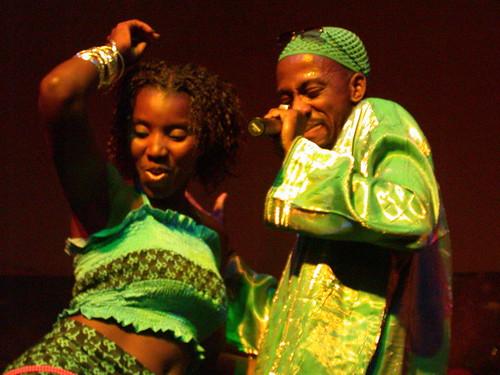 Sherifa and Rex Omar por Africanfuturist