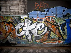 alcoves are our friends (Claudine) Tags: njudah sanfrancisco graffiti muni tunnel sunsettunnel