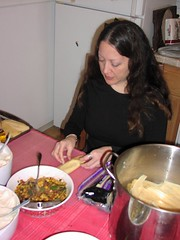 Stef is all veggie (sf-culinaire) Tags: christmas tamales