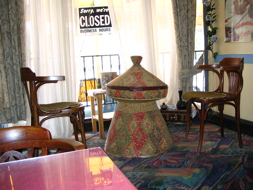 Seating at Horn of Africa