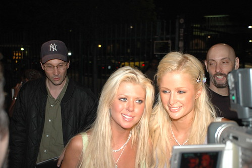 Tara Reid and Paris Hilton