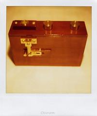 ZERO2000 (tearoom) Tags: camera polaroid sx70 topv333 pinhole pinholecamera zero2000 zeroimage