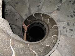 (maggot) Tags: barcelona topv111 stairs spain gaudi