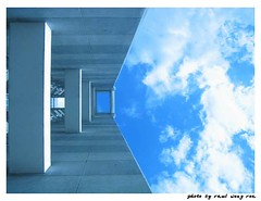 looking at the alpha sky (Raul Wong Roa) Tags: travel sky building clouds philippines manila alpha