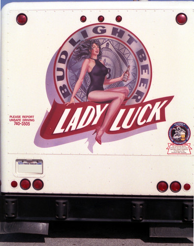 Pin Up Lady Luck. Lady Luck middot; Hot Fuel Tank