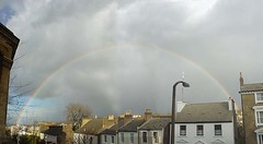 Rainbow from my window (eyedropper.co.uk) Tags: gipsy hill home weather rainbow