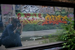 i love this stuff! (Claudine) Tags: sanfrancisco graffiti pieces me mirrorproject selfportrait townsend zore dzyer claudine