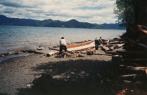 Lugu lake canoe
