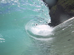 water (Gehrke) Tags: ocean water hawaii surf tube barrel wave surfing blueroom makapuu shorebreak abigfave