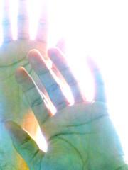 Fade (O Caritas) Tags: portrait people selfportrait me manipulated self hands fingers picasa fade ocaritas backlighted utatahands