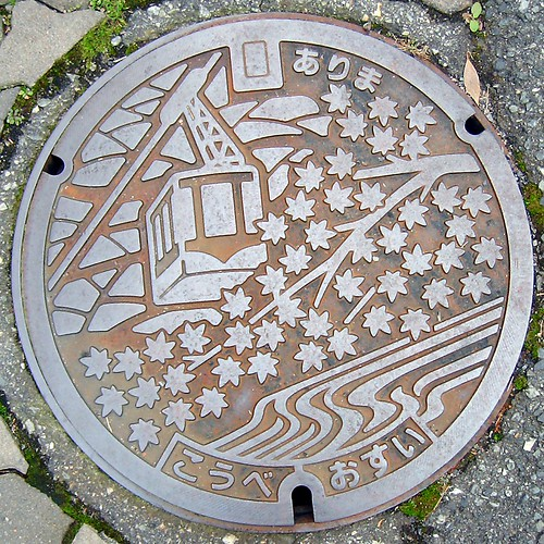 manhole cover by OpenCage