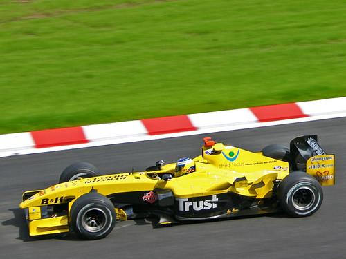 Jordan F1 racer