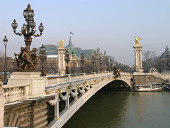 Pont Alexandre III - Paris (France) (Meteorry) Tags: paris bridge pontalexandre river seine city water