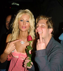 Paris Hilton & Randy Spelling (kingpaparazzi) Tags: copyright 2005 elwoody all rights reserved