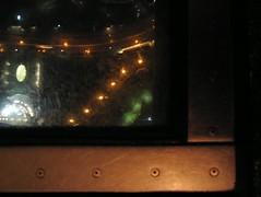 glass floor at night (striatic) Tags: toronto ontario canada tower window glass night landscape photo cntower floor outdoor indoor valentines glassfloor