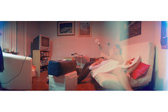 Home Sweet Home (ale2000) Tags: friends red portrait people panorama baby house home children relax parents interestingness friend couple dad child married horizon relaxing husband son best sofa mum wife cinematic niels betti tccomp011