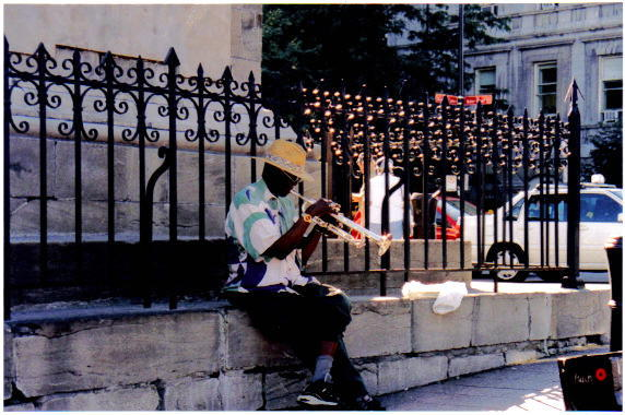 Jazz Man in Vieux Port on Flickr