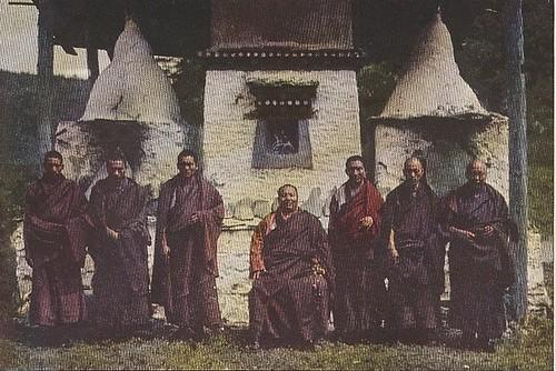 Lama king of Muli, 1928