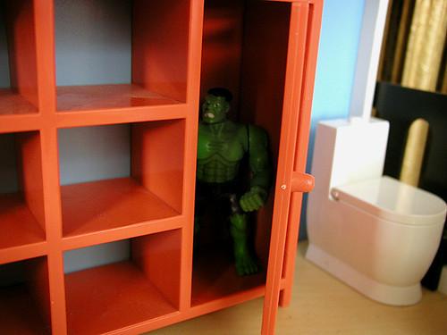 sulking Hulk