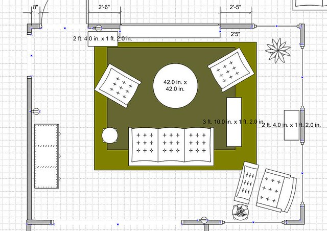 design plan livingroom diagram visio