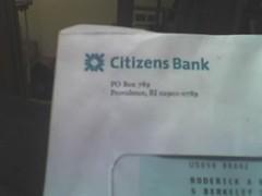 Citizens Bank's new logo