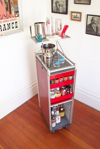SAS Galley Cart: Ready for service