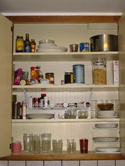 My kitchen cabinet