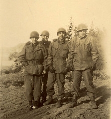 Winter in Pacific Theatre, WWII (tejana) Tags: winter island uniform archive snap soldiers battlefield worldwar2 pacifictheatre