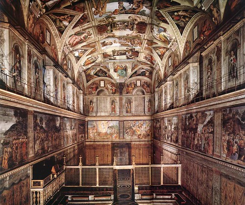 Sistine Chapel  - the oher side