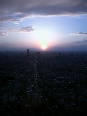 sunset in roppongi [version azur]