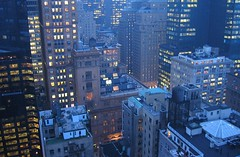 Midtown Manhattan at dusk (.curt.) Tags: nyc newyorkcity blue newyork topv333 manhattan essexhouse