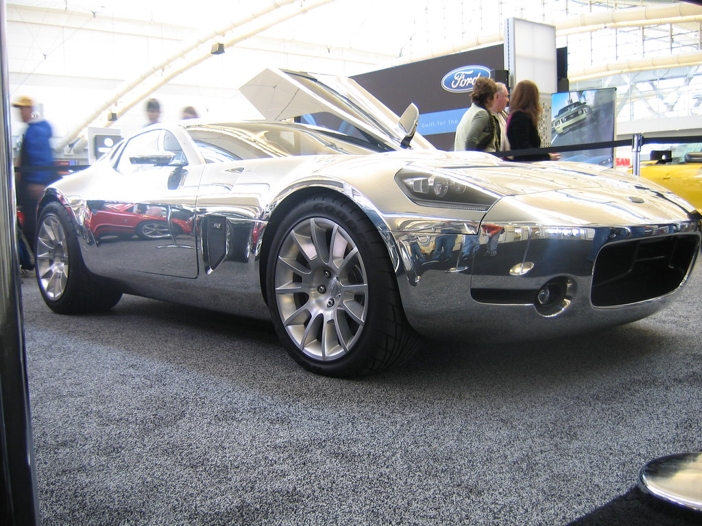 chrome ford gt